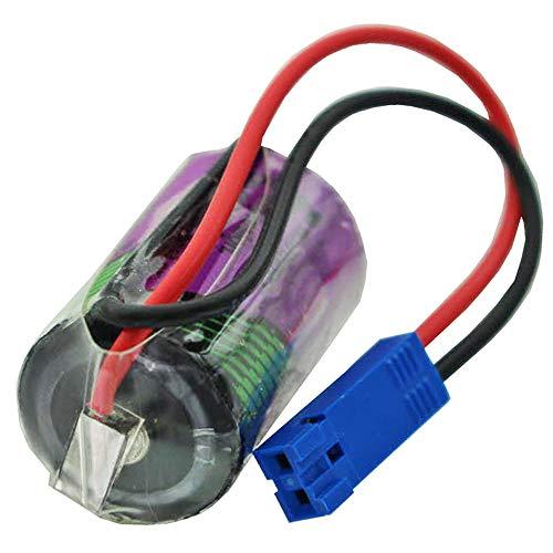 1/2AA, Lithium, 3,6V, 800mAh, CNC Batterie Tadiran SL550/S mit Kabel und Stecker