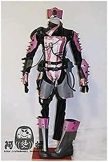 小笨康 Apex legendsエーペックスレジェンズ レイス 惡靈 コスプレ衣装+全身鎧 (S, 女)