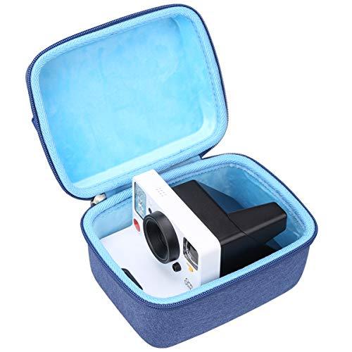 Aproca Duro Viajes Funda Bolso Caso para Polaroid Originals Nouveau One Step 2 /OneStep+ Plus/Polaroid Now Cámara instantánea i-Type (Blue)