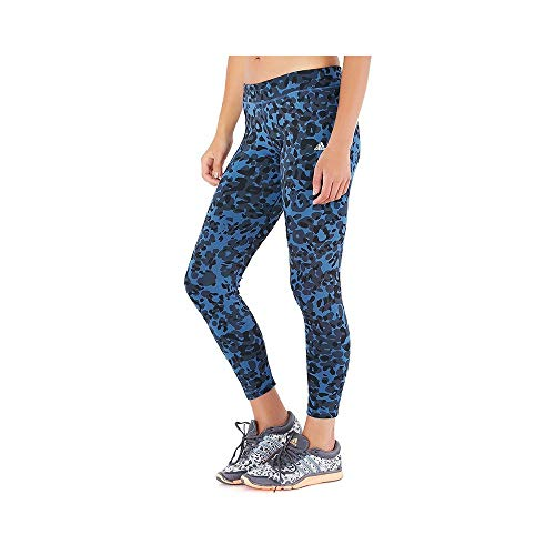 Legging Bleu Entrainement Femme Adidas