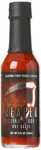 CaJohns Reaper Sling Blade Hot Sauce