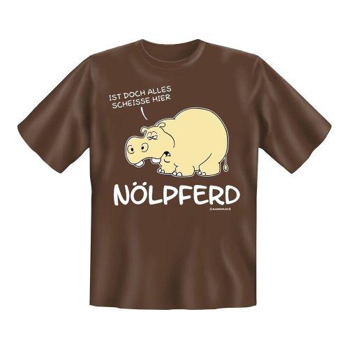 T-Shirt mit Motiv/Spruch