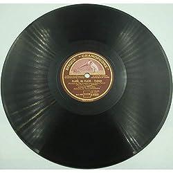 ARMAND MESTRAL plaine, ma plaine/ma maison BO extravagante mission 78T Gramophone