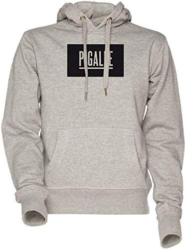 Vendax Pigalle Unisex Herren Damen Kapuzenpullover Sweatshirt Grau Men's Women's Hoodie Grey