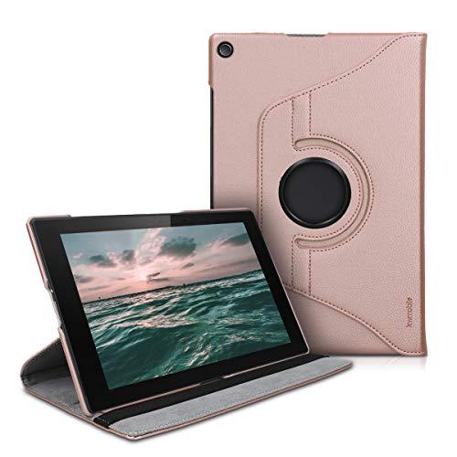kwmobile Schutzhülle kompatibel mit Sony Xperia Tablet Z2 - Hülle 360° Tablet Cover Hülle Rosegold