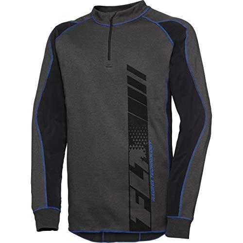 FLM Funktionsshirt, Shirt, Langarmshirt Funktionsshirt mit Thermolite 1.0 schwarz XL, Herren, Multipurpose, Ganzjährig, Baumwolle