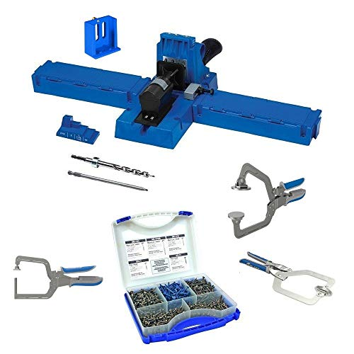 Kreg K5MS-KREG Jig K5 Master System Wood Clamp with Pocket-Hole Screw Kit