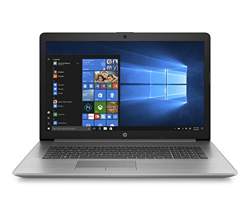HP Probook 470 G7 (17,3 Zoll / FHD) Business Laptop (Intel Core i7-10510U, 16GB DDR4 RAM, 1TB HDD, 256GB SSD, Intel UHD Grafik 620, Windows 10 Pro) Silber