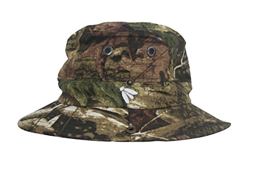 Bughat - Traditional Boonie Mosquito Net Hat - Forest Camo - Adult Small/Medium - Outdoor Hat - Sun and Bug Protection - Boonie Hat - bug hat