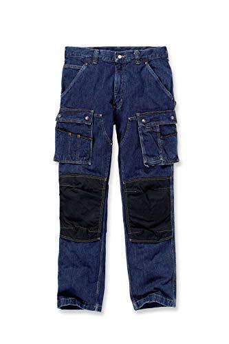 Carhartt .EB229.480.S424 Denim Multi Pocket Tech broek, maat W36/L32, spot, indigo