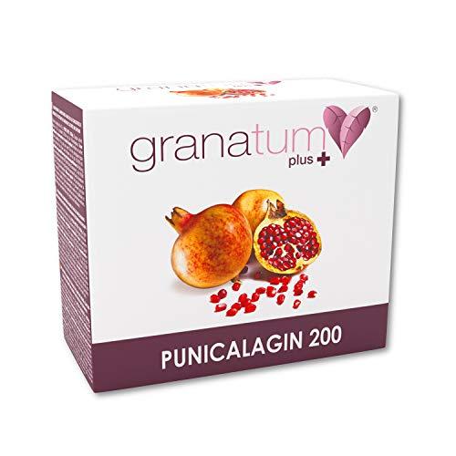 Granatum Plus | Zumo de granada concentrado (65 °Bx) | Extracto de granada | Punicalagina 200 | Complemento alimenticio | (30 sobres bebibles monodosis de 35 gr. Peso Neto 1050 gr.)
