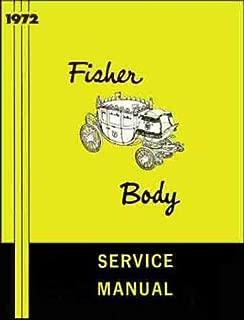 1972 OLDSMOBILE GM FISHER BODY REPAIR SHOP & SERVICE MANUAL - INCLUDES: Olds F-85,Cutlass, Cutlass S, 442, Supreme, 88, Cruiser, 98 and Toronado. 72