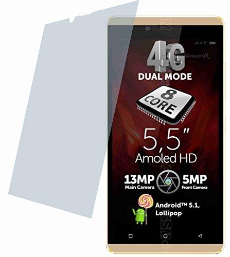4ProTec I Allview V2 Viper X (2 Stück) Kratzfeste Premium Bildschirmschutzfolie Displayschutzfolie kristallklar - Kratzfest UND PASSGENAU