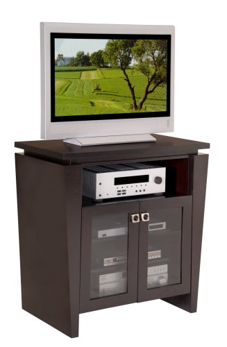 Hot Sale Furnitech 36 in Classic Modern Console with Tapered Legs (Wenge Finish)
