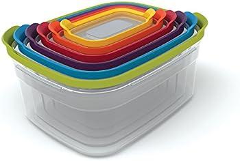 12-Piece Joseph Nest Plastic Food Storage Containers Set with Lids