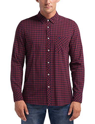 MUSTANG Herren Regular Fit Karohemd