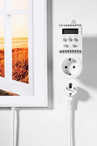 Könighaus Fern Infrarotheizung – Bildheizung in HD Qualität mit TÜV/GS – 200 Bilder – 600 Watt (227 Fenster offen) kaufen  Bild 1*