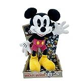 Disney - Peluches Mickey Mouse y Minnie Mouse, 90 Aniversario - 25 cm (10'), Licencia Oficial (MICKEY 90TH)
