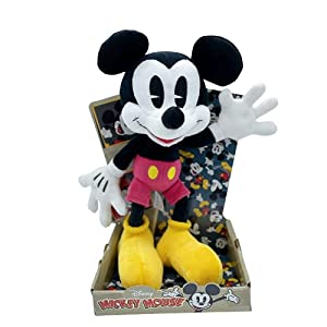 WHL Peluches Mickey Mouse y Minnie Mouse, 90 Aniversario - 25cm (10