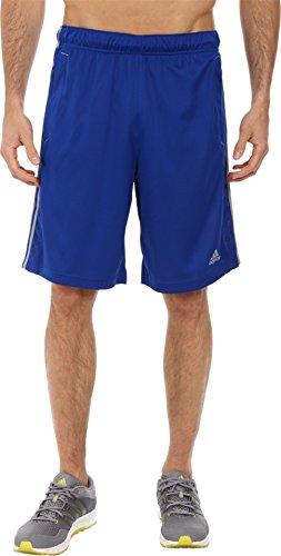 adidas Essentials –Pantalones cortos con 3 rayas para hombre - S14APM811, Collegiate Royal/Collegiate Royal/Grey