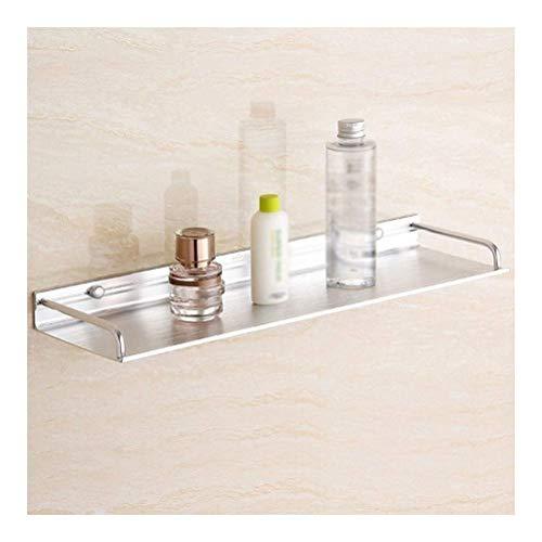 Rek handdoekhouder badkamer hoekrekken aluminium hoogglans roestvrij wandmontage douche 1 dier eenvoudig te installeren (kleur: Punch grootte: 60cm) 45 cm.