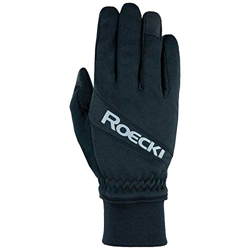 Roeckl Handschuhe Rofan, Bikerhandschuhe Winter, Bike Top Function, schwarz, 7.5