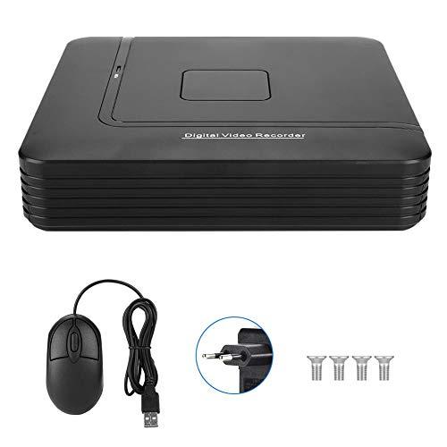 Garsent ONVIF Veiligheids-videorecorder met Full HD-camera, 8V CCTV NVR 1080P voor beveiligingscamera, EU