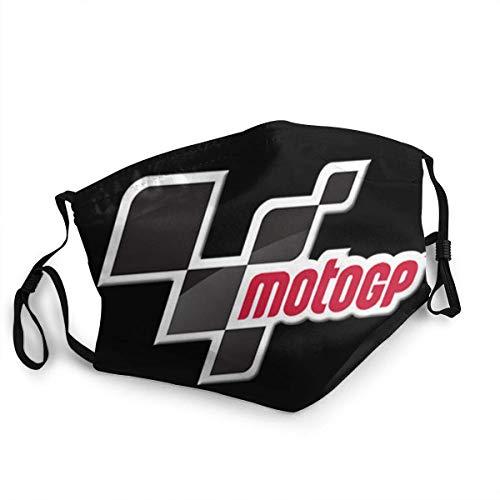 Logotipo de Moto-GP, decoración de Gasa a la Moda para Adultos, decoración Ultravioleta, cómoda para la Salud, protección contra el Polvo para Pintura, Traje para escuelas, Negro