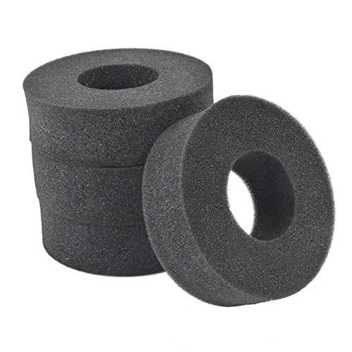TOOGOO 4 Piezas de Espuma de Esponja Suave de NeumáTicos de 1,9 Pulgadas para 1/10 RC Crawler 110-120Mm de DiáMetro 1,9 Pulgadas de NeumáTicos