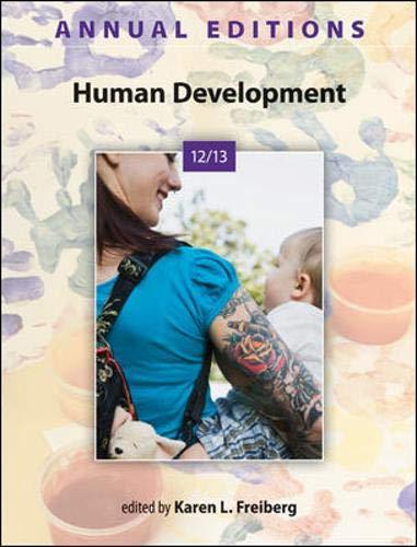 Annual Editions: Human Development 12/13