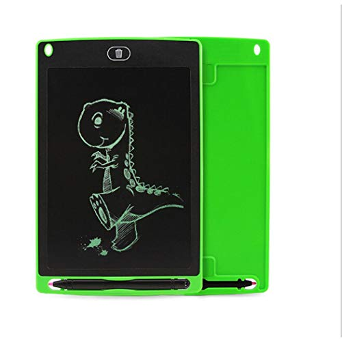 sholdnut 8.5inch Kids Mini LCD Writing Pad Tablet Drawing Memo Board with Handwriting Pen for Writing,Painting (Green)