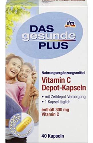 Das Gesunde Plus Vitamin C Depot Kapseln 1x40Stk