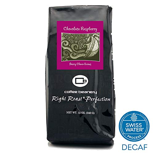 Coffee Beanery Chocolate Raspberry Flavored Coffee SWP Decaf 12 oz. (Automatic Drip)