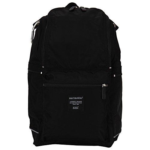 Marimekko [ マリメッコ ] BUDDY ナイロンバックパック 026994 black ブラック 北欧 リュック バッグ マザーズバッグ [並行輸入品]