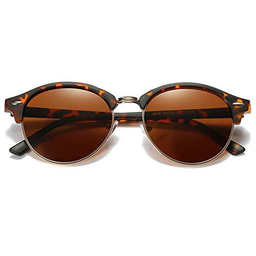 OULN1Y Gafas de sol Polarized Sunglasses Women Retro Round Mirror Driving Sun Glasses for Men Designer Vintage