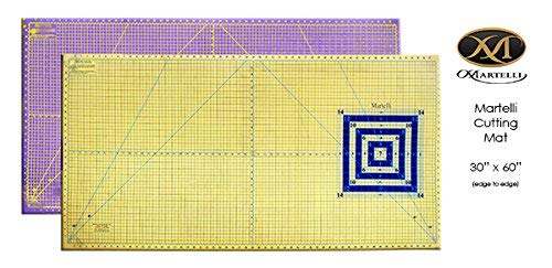 "Martelli 30"" x 60"" Extra Large Self Healing Contrasting Cutting Sewing Mat"