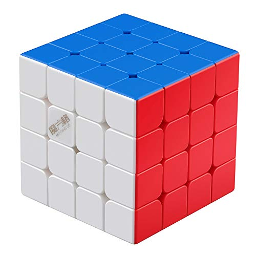 D-FantiX Qiyi Wuque Mini M 4x4 Speed Cube Stickerless Mini Wuque M 4x4x4 Magic Cube Magnetic Puzzle 60mm
