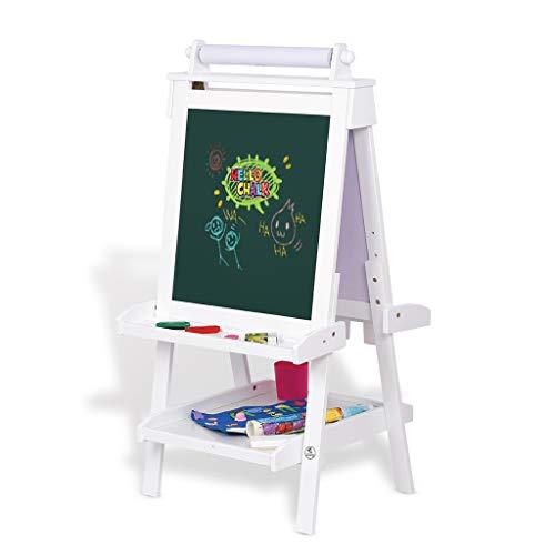Kinderen schilderij frame, beugel type schrijfbord kinderen verstelbare tekentafel magnetische kleine schoolbord opvouwbare ezel (verzend 8 soorten prachtige kleine geschenken)