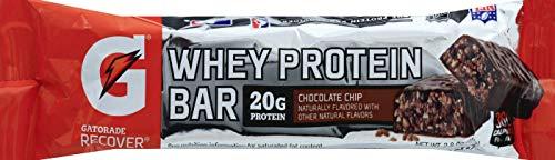 Quaker Hbc Gatorade Chocolate Chip Protein Bar, 2.8 oz