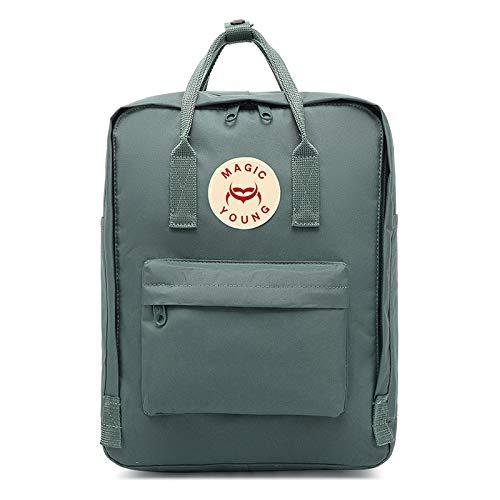 School Backpack Unisex Classic Lightweight Tear-Resistant Rucksack Travel Backpack Suitable for 16 inch Laptop black7L
