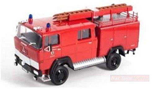 LUCKY Die Cast LDC43017 MAGIRUS DEUTZ 100 D7 FA LF8-TS Red 1:43 Die Cast Model Compatible con