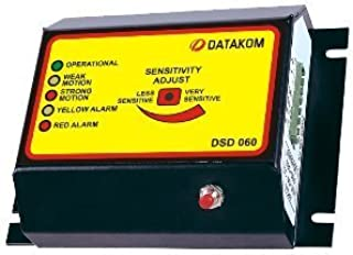 DATAKOM DSD-060 سنسور خاموش شدن زلزله با سنسور فعالیت لرزه ای