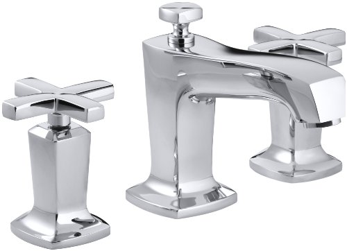 KOHLER K-16232-3-CP Margaux Widespread Lavatory Faucet, Polished Chrome