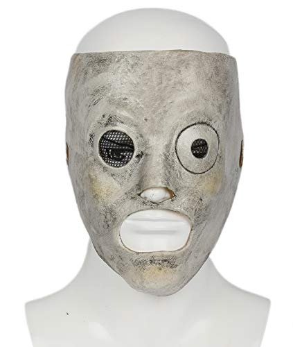 ValuePack Corey Taylor Maske Halloween Cosplay Kostüm Herren Latex Gesicht Mask Erwachsene Verrücktes Fancy Dress Party Stütze