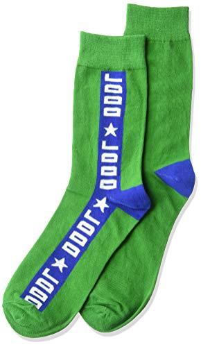 Diesel Herren SKM-RAY Crew Socken, grün, Large