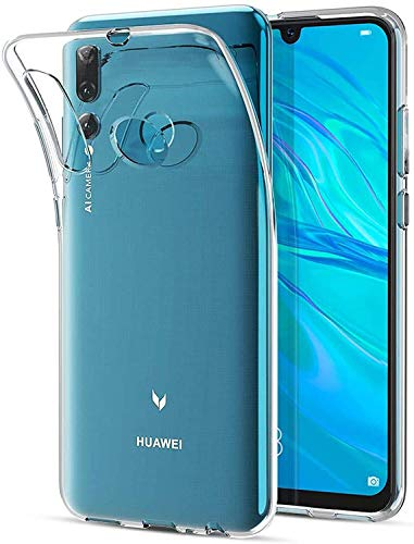 Captor Cover Trasparente per Huawei P Smart Plus 2019 / Honor 20 Lite, Custodia TPU in Silicone Flessibile Morbida e Sottile, Protezione Full Body con Bordo Rialzato per Schermo e Fotocamera