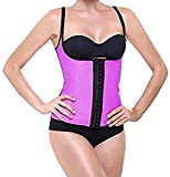Intimax corsets lencería y moda Latex Shape Corsé, Morado, S para Mujer