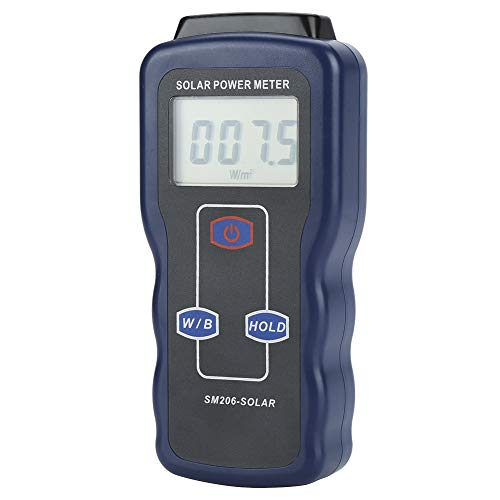 Digitale zonne-energiemeter, digitale zonne-energiemeter, zonnelampmeter SM206 zonlicht stralingstestapparaat Digital High Precision