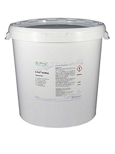 S-Pro EisWeg Winter Streugranulat 25 kg - Streusalz alternative, Umweltschonend und Tierverträgliches Streumittel