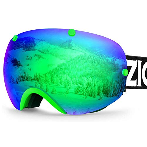 ZIONOR XA - Gafas esquí Snowboard Hombre Mujer, antivaho